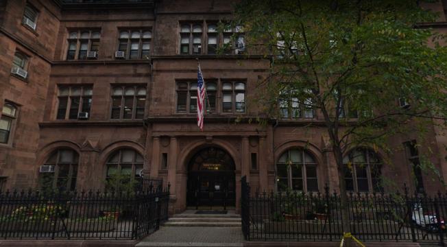 Niche.com日前公布紐約市最佳學校排名,三一學校拔得頭籌。(谷歌地圖截圖)