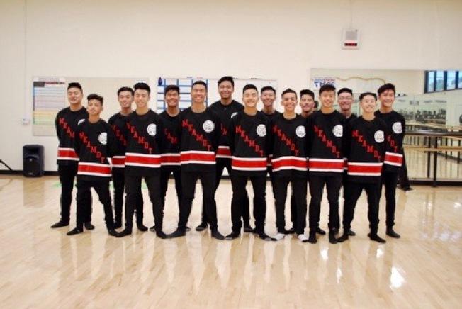 馬凱博高中男子舞蹈隊入選NBC舞蹈世界比賽。(@collinlphoto on Instagram 提供)