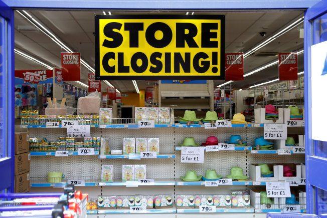 看不到隧道盡頭的亮光 美國零售業將面臨另一波關店潮