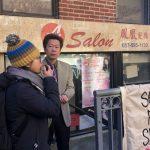 波士頓華埠髮廊被逼遷案引關注 居民、學生聲援