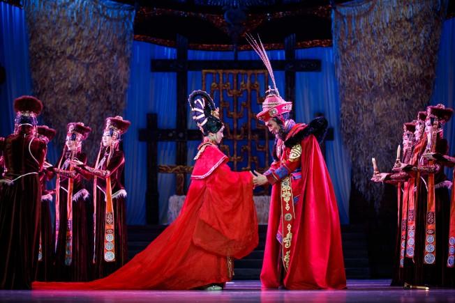 舞劇「昭君出塞」將於3月21日起在林肯中心大衛.寇克劇院盛大演出。(主辦方提供)