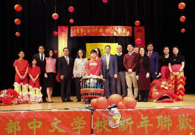 紐澤西中部中文學校 春晚聯歡