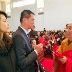 玉佛寺 祈福法會與新年團拜