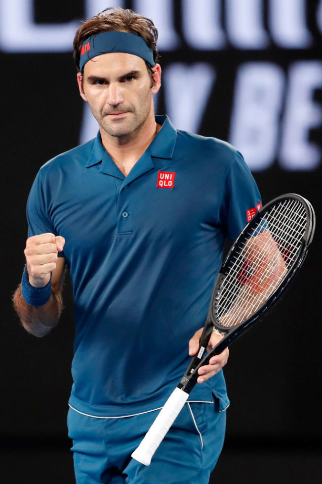 瑞士網球巨星費德勒去年廣告代言收入6500萬美元。(Getty Images)