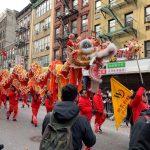 〈圖輯〉 紐約華埠新春大遊行  70萬人爭睹塞爆