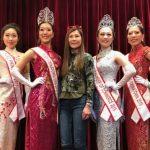 新當選全美華埠小姐及眾佳麗 走訪華埠僑團