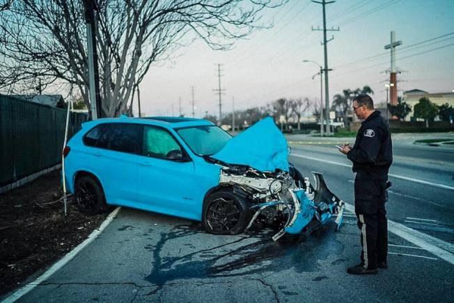 酒精+大麻  26歲華男飛車 迎面撞死警員