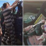 讓專業的來!女童遭反鎖車內 5囚犯神救援