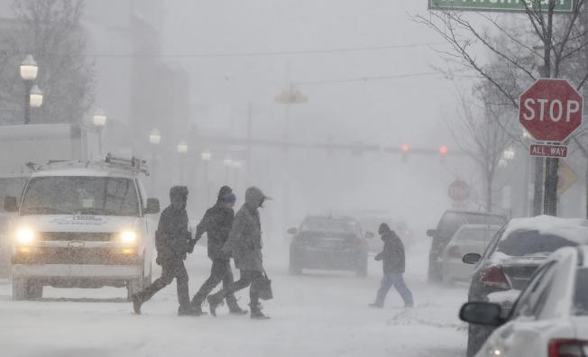 只要額外留心注意一下,電動車仍然可以在極端氣候條件下使用。(美聯社)
