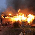 家庭糾紛 男放火燒屋後開槍自殺