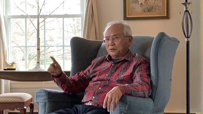 吳文立在政府研究單位工作30多年,不是求安穩,而是滿足好奇心。(記者張筠/攝影)