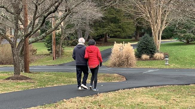 為了陪伴愛妻,吳文立決定在退休後更多享受家庭時光。(記者張筠/攝影)