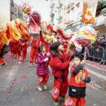 〈圖輯〉紐約華埠新年遊 跟著小童追龍趣