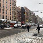 紐約市20日再遇雪夾雨 慎防街道濕滑