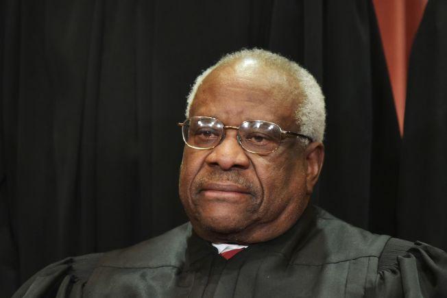 大法官湯瑪斯認為,最高法院應該重新檢討是否推翻有55年歷史的一項誹謗判決,這項標竿性判決使公眾人物極難贏得誹謗訴訟。(Getty Images)