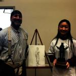 休士頓牛仔節學校美術大賽 華生奪冠