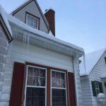 明州寒冬 住家除雪去冰防意外