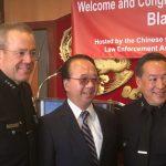 【多圖】華埠慶賀 周寶來升任LAPD副局長