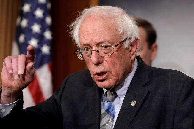 桑德斯才宣布參選1天 募得600萬 傲視民主黨參選人