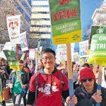 屋崙教師罷工 影響86校3.6萬生