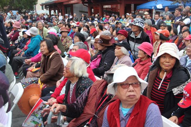 舊金山60歲以上的長者中,亞裔接近一半。(本報檔案照片)