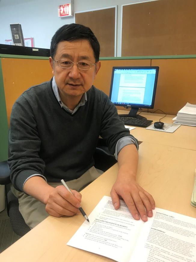 華人諮詢服務處耆老就業服務協調專員周保東說,許多65歲及以上的耆老,都樂於重返職場。(特派員黃惠玲/攝影)