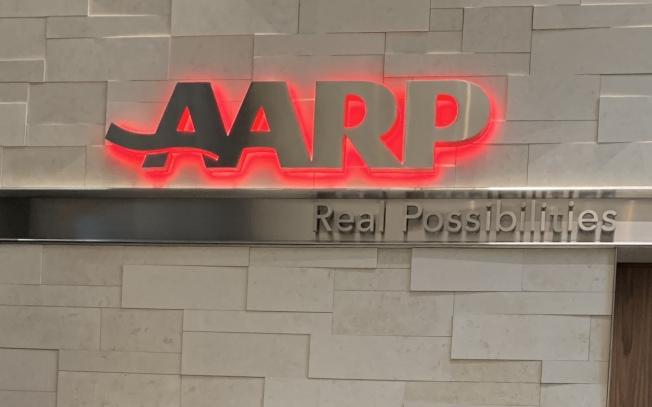 全美最大非營利組織樂齡會(AARP),旨在幫助50歲以上的民眾自主選擇生活方式,提供長者照護、醫療保健、財務安全、退休及個人發展等實用資訊。(記者羅曉媛/攝影)