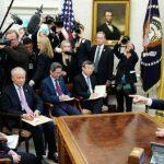 川普接見劉鶴   貿談將有「協議」 三月下旬佛州「川習會」