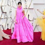 奧斯卡/「瘋狂亞洲富豪」三女星紅毯比美 鵝黃+粉紅+~