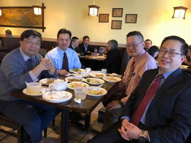 陳案發生至今,當地華人社區密切關注,開審以來,每天都有數十華人旁聽,還有熱心華人餐飲業者提供免費午餐。(Yuzhong Shen提供)