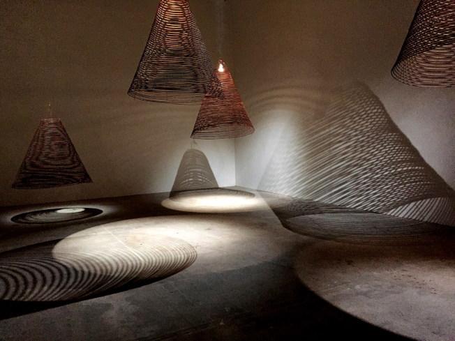 魯賓美術館將於3月1日推出新展覽「意念的力量:再造轉經輪」,邀請台灣的蔡佳葳等藝術家創作展出作品。(紐文中心提供)
