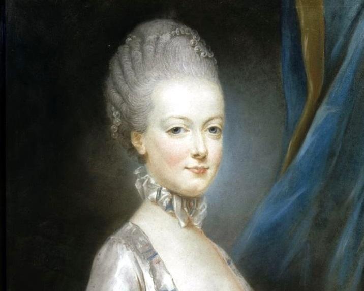 瑪麗安東尼王后,迪克勒(Joseph Ducreux)繪於1769年。(Wikimedia Commons)
