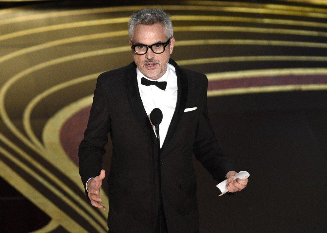 「羅馬」獲奧斯卡最佳導演、外語片。 美聯社