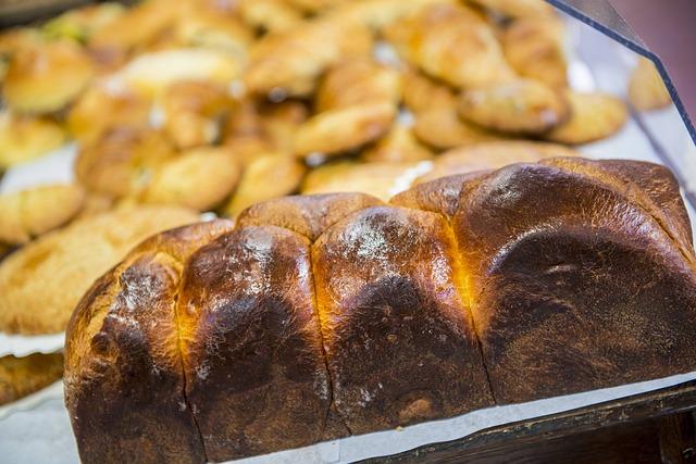 吐司型的布里歐麵包。(Max Pixel)