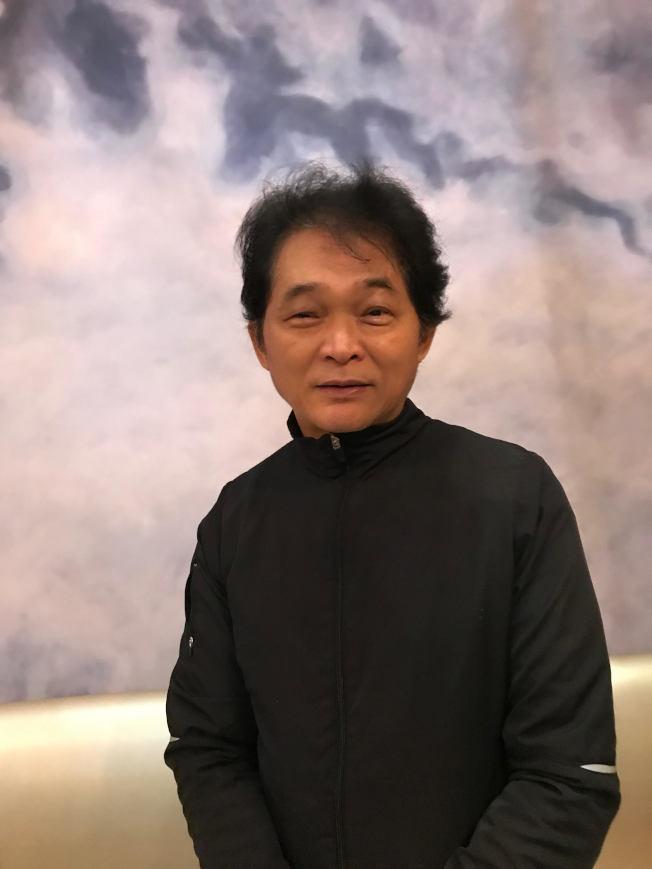 藝術家林世寶。(熊傳慧/攝影)