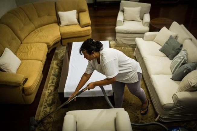 新年之際打掃整齊的居家環境,要維持一整年並不容易。(Getty Images)