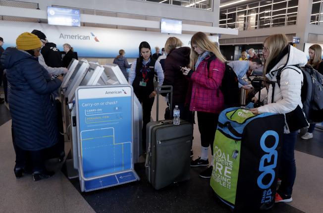 隐藏城市机票是预订航班,但在中停点下机,而不是飞往最终目的地。(美联社)