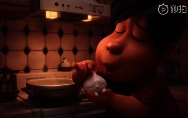 《包宝宝》动画内容部分以石之予母亲为原型。(视频截图)