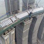 橫躺空中…重慶這棟摩天樓嚇到一堆外國人