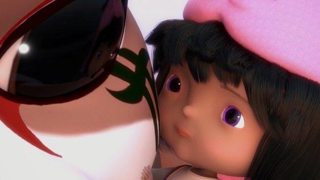 台灣導演Ying Ling Chen執導的動畫片「重生」。(取自皇后區世界電影節官網)
