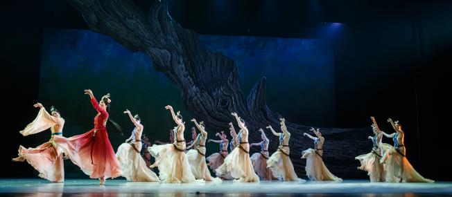《昭君出塞》笙歌妙舞,新意迭出。將於3月21日至24日在林肯中心演出。(主辦方提供)
