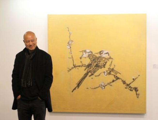 「簡直一樣」 中國名畫家葉永青被指抄襲30年 - 世界新聞網