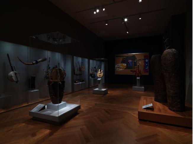 大都會博物館樂器館重新布展完成。(熊傳慧/攝影)