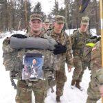 Peter走了學生軍團滑雪場負重行軍紀念他