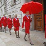維珍航空大改變:空姐可不穿裙子不化妝