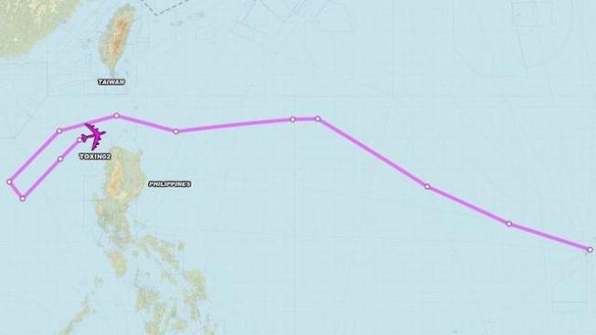 第二架美B-52轰炸机飞往菲律宾与南海。(环球时报)