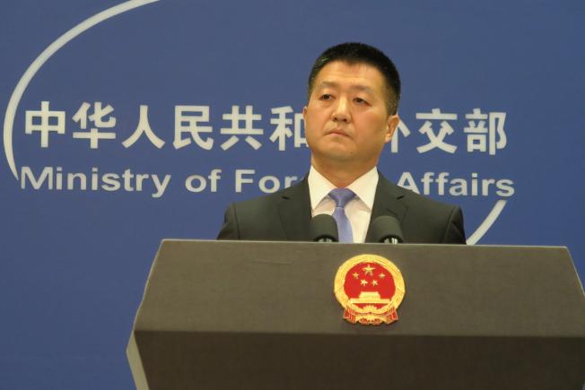 中國外交部發言人陸慷。中央社