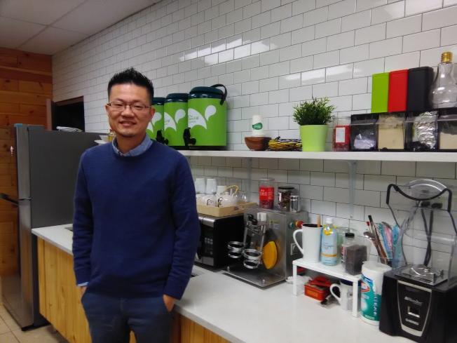 Gary林計畫今年增加50家加盟店。(韓傑/攝影)