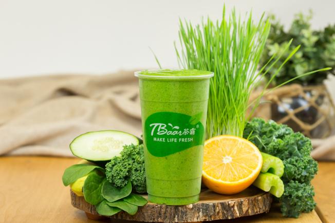 鮮搾果汁是茶霸公司的特色產品。(茶霸提供)