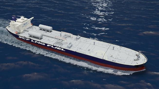 LNG也成為油輪動來源。(SCF Group)